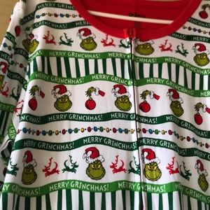 the grinch intimates sleepwear how the grinch stole christmas one piece pajamas - How The Grinch Stole Christmas Sweater